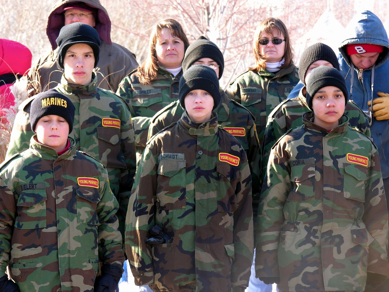 Young Marines Young Marines The National Network Opposing The Militarization Of Youth Nnomy
